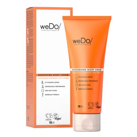 weDo Nourishing Night Cream Pflegende Nachtcreme für alle Haartypen 90ml
