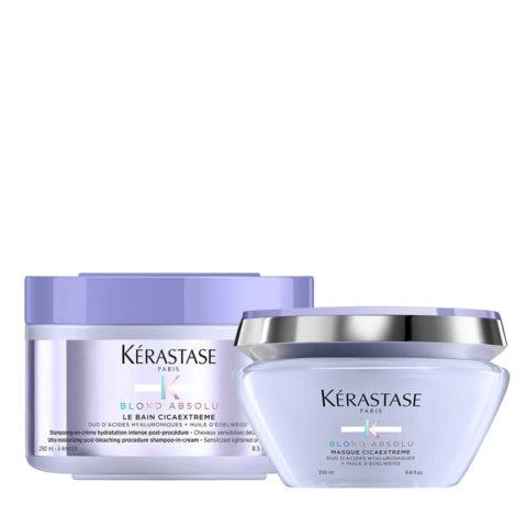 Kerastase Blond Absolu Cicaextreme Shampoo 250ml und Maske 200ml