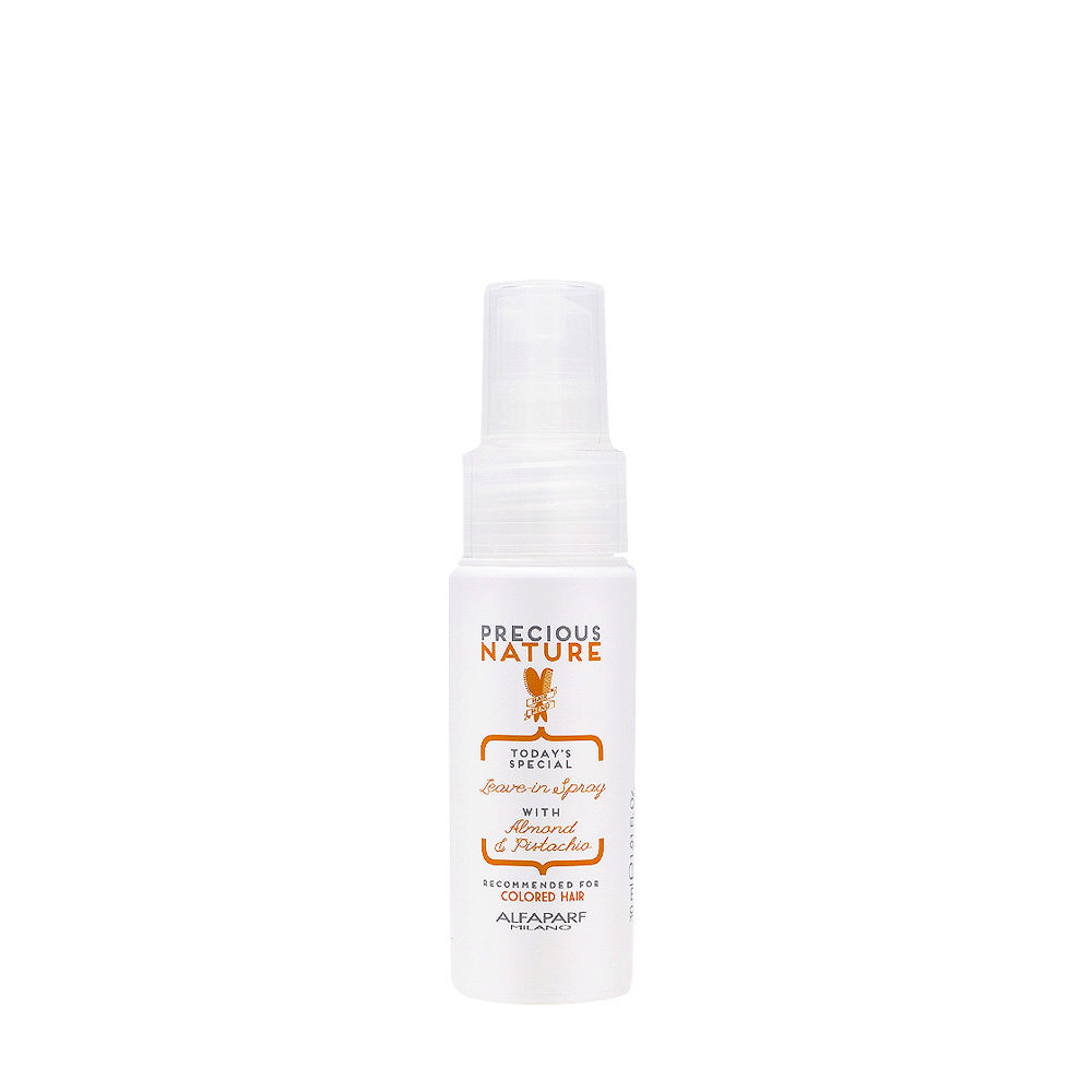 Alfaparf Precious Nature Leave-In Spray With Almond & Pistachio For Colored Hair 30ml - Conditioner Ohne SpüLung
