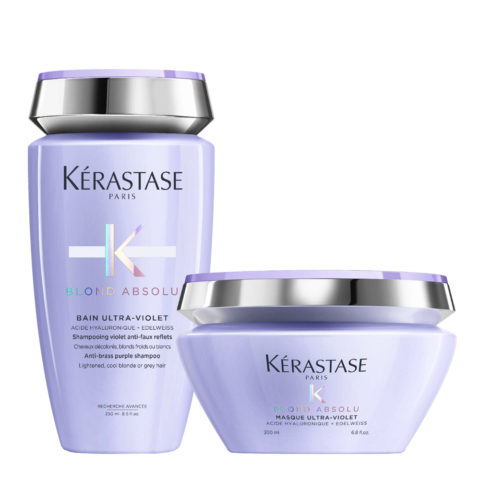 Kerastase Blond absolu Kit Bain ultra violet 250ml Maske 200ml