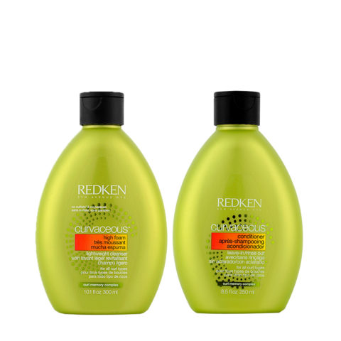 Redken Curvaceous Shampoo 300ml und Conditioner 250ml