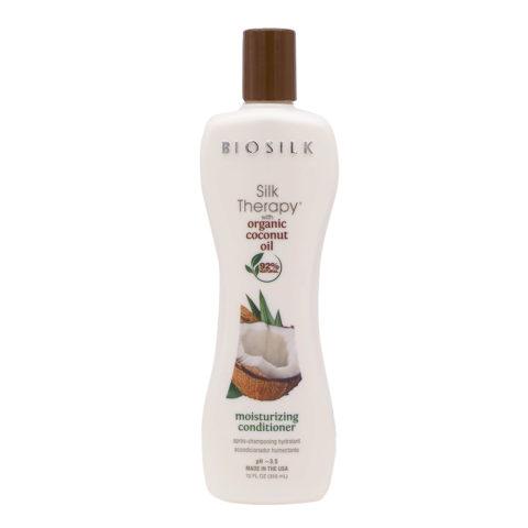 Biosilk Silk Therapy With Coconut Oil Feuchtigkeitsbalsam 355ml
