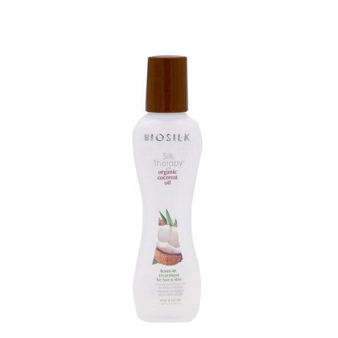 Biosilk Silk Therapy Coconut Oil Leave-In-Serum für Körper und Haare 67ml