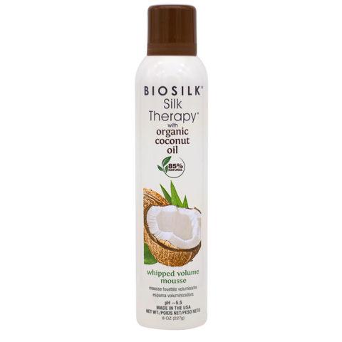 Biosilk Silk Therapy With Coconut Oil Volumizing Moisturizing Foam 227gr