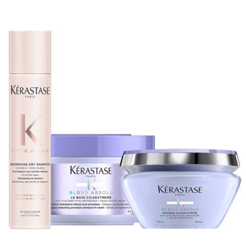 Kerastase Fresh Affair Trockenshampoo 150gr Cicaextreme Shampoo 250ml Maske 200m