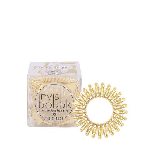 Invisibobble Original Gold Haar elastisch