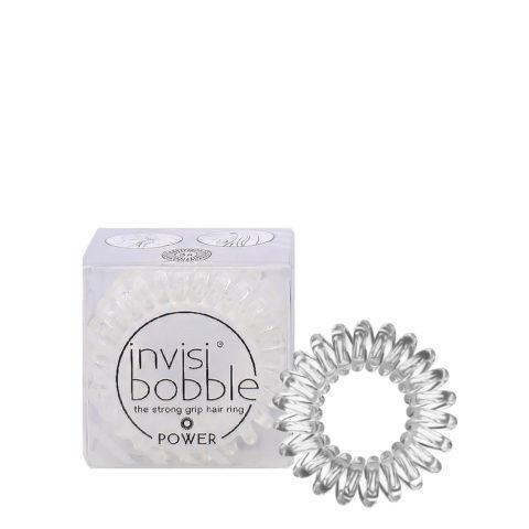 Invisibobble Power Transparent Gummizug für dickes Haar