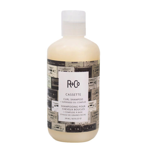 R+Co Cassette Lockiges Haar Shampoo 241ml