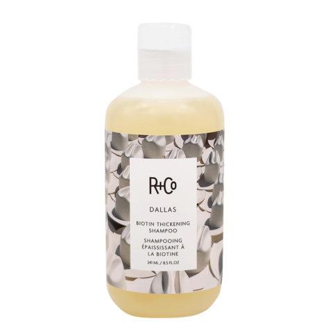 R+Co Dallas Stärkendes Shampoo für zerbrechliches Haar 241ml