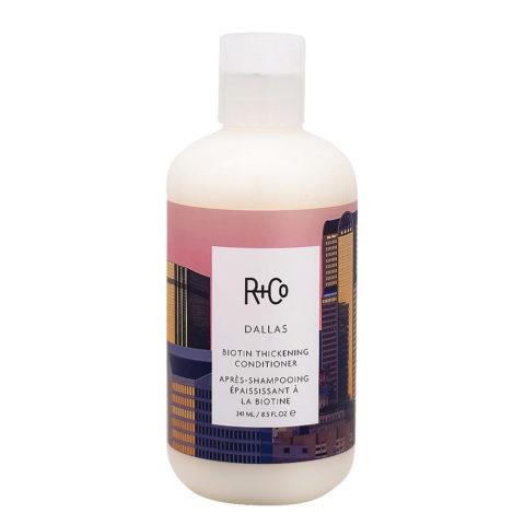 R+Co Dallas Conditioner für zerbrechliches und feines Haar 241ml