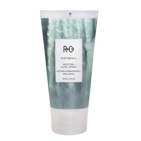 R+Co Waterfall Moisture   Shine Lotion Leichte Feuchtigkeitscreme 147ml