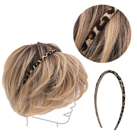 VIAHERMADA Schwarz geflecktes Haarband