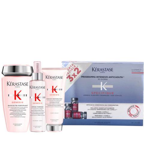 Kerastase Genesis Sanftes Hydratations-Und Schutzritual + Kerastase Specifique Cure anti chute intensive 30x6ml