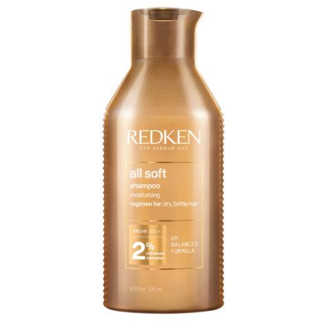 Redken All Soft Shampoo Spezialformat 500ml - Shampoo für trockenes Haar