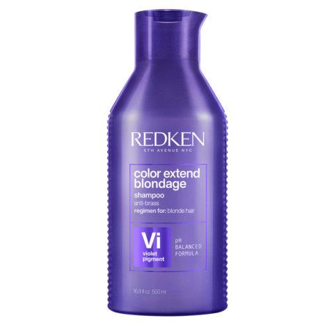 Redken Color Extend Blondage Shampoo Spezialformat 500ml - Anti-Gelb-Shampoo