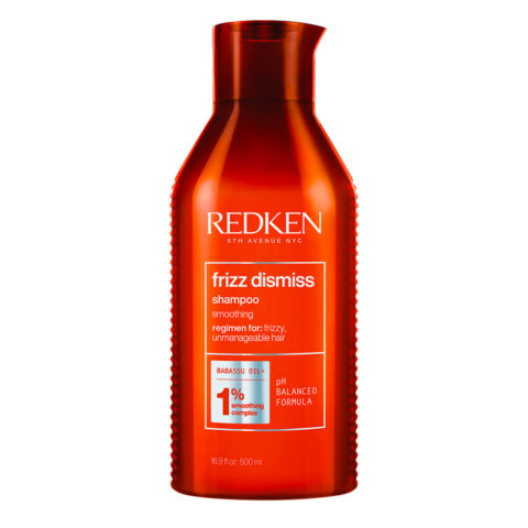 Redken Frizz Dismiss Shampoo Special Size 500ml - Shampoo für krauses Haar