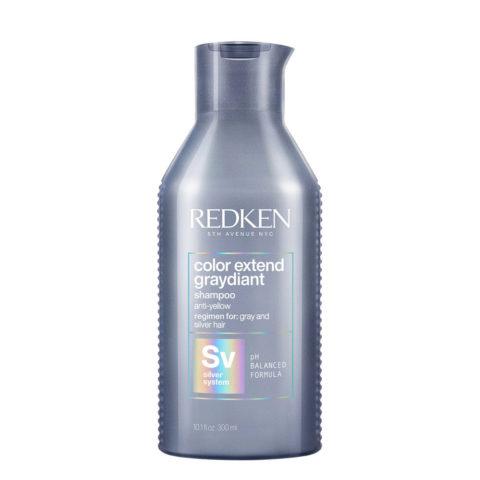 Redken Color Extend Graydiant Shampoo 300ml - Tonisierung für graues und weißes Haar