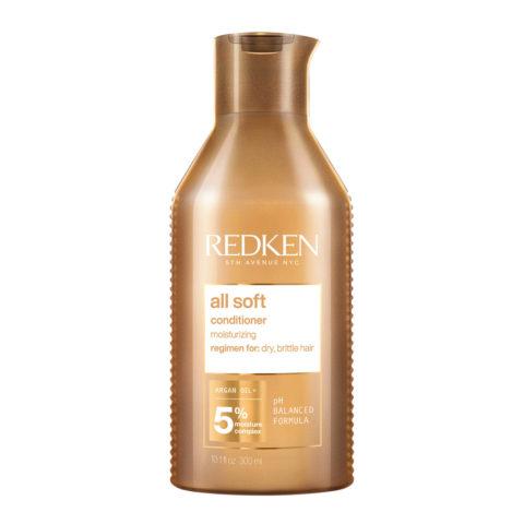 Redken All Soft Conditioner  300ml - pflegender Conditioner für trockenes Haar