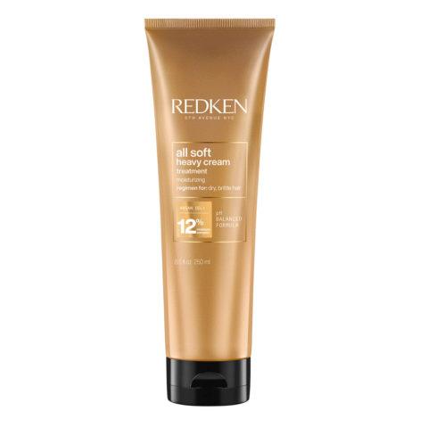 Redken All Soft Maschera Heavy Cream Maske für sprödes Haar 250ml