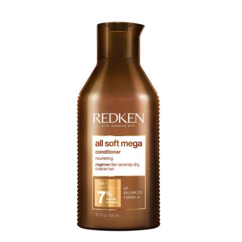 Redken All Soft Mega Conditioner 300ml - Conditioner für trockenes Haar