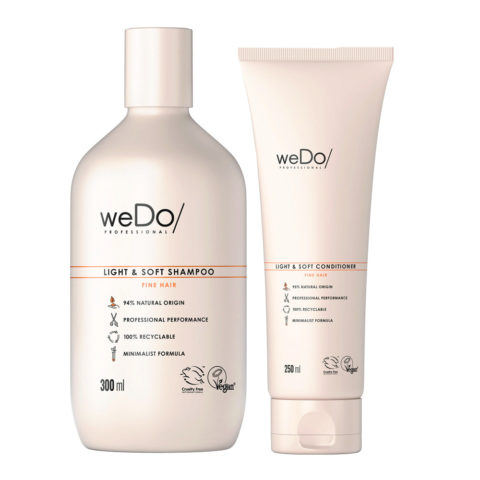 weDo Light & Soft Shampoo 300ml + Conditioner 250ml