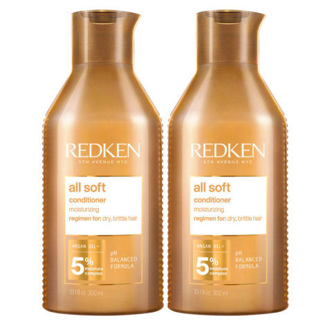 Redken All Soft Kit mit 2 Conditioner Special Format 500ml+500ml