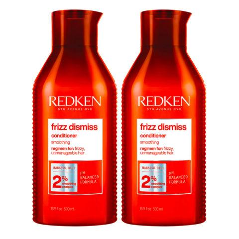 Redken Frizz Dismiss Kit mit 2 Conditioner Special Format 500ml+500ml