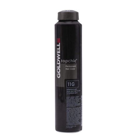 11G Hellerblond gold Goldwell Topchic Special lift can 250gr 2+1