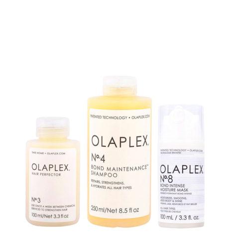 Olaplex Kit Perfect Hair N°3 100ml N°4 250ml N°8 100ml