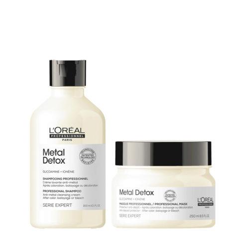 L'Oréal Professionnel Paris Serie Expert Metal Detox Kit Shampoo 300ml Maske 250ml