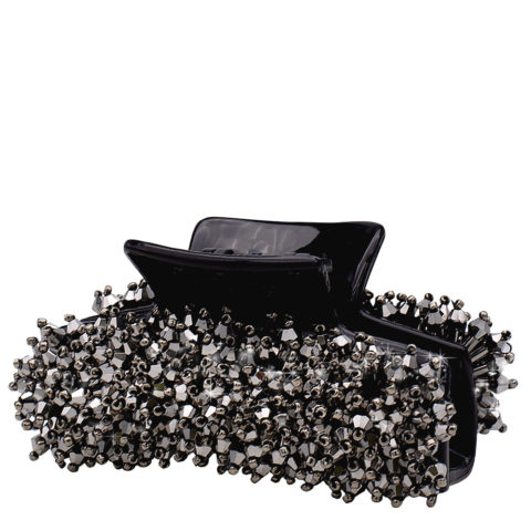 VIAHERMADA Haarzange mit Anthrazit-Kristallen
