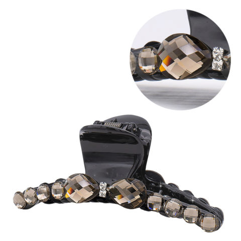 VIAHERMADA Haarspange mit Turteltauben-Kristallschleife