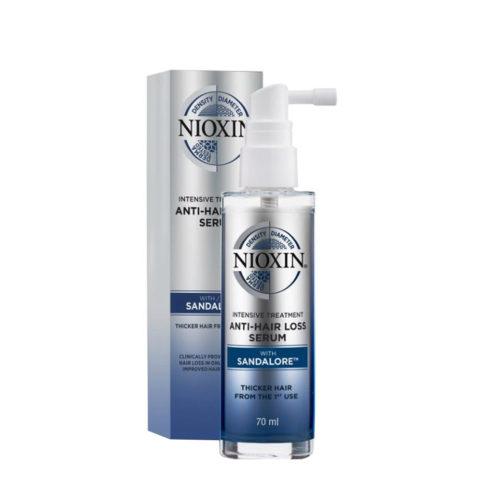 Nioxin Anti-Haarausfall-Behandlung 70ml - intensive Behandlung gegen Haarausfall