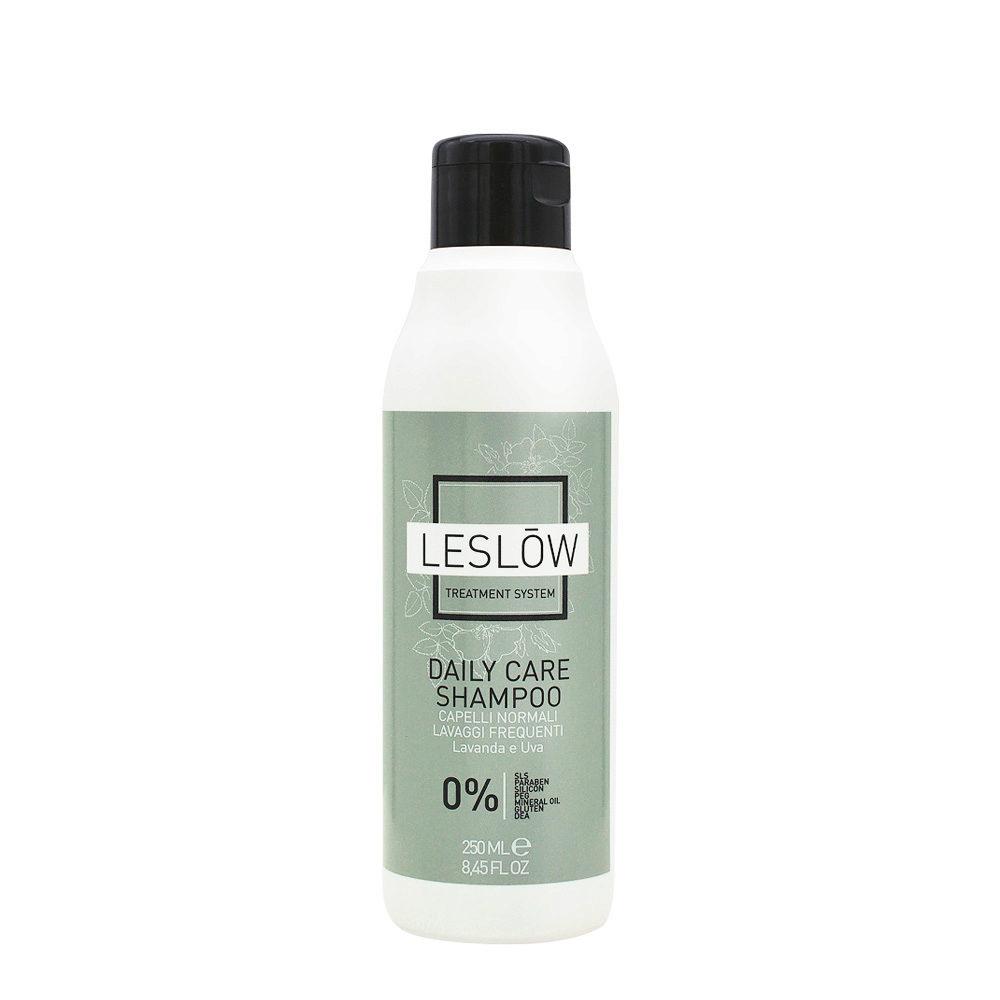 Leslōw Daily Care Shampoo 250ml - normales Haar, häufiges Waschen