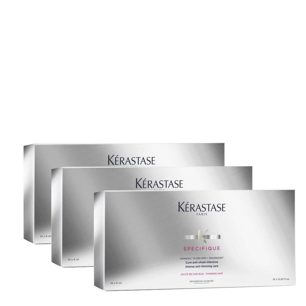 Kerastase Specifique Cure anti chute intensive 10x6ml x 3 box - Intensivkur gegen Haarausfall