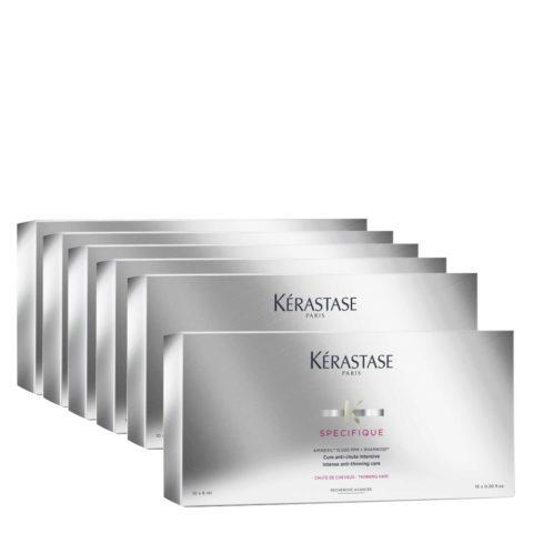 Kerastase Specifique Cure anti chute intensive 10x6ml x 6box - Intensivkur gegen Haarausfall