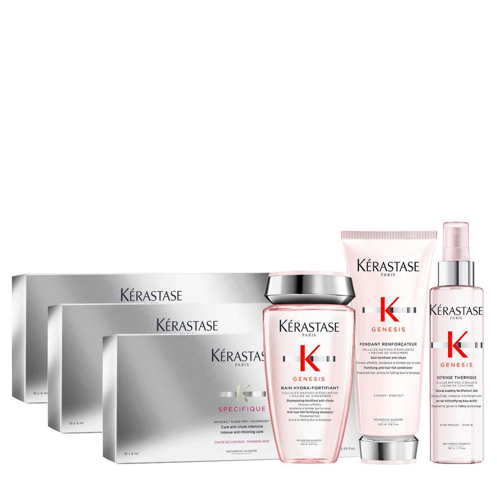 Kerastase Genesis Sanftes Hydratations-Und Schutzritual + Specifique Cure anti chute intensive 30x6ml