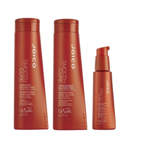 Joico Smooth cure Kit2 Shampoo   Conditioner   Leave-in rescue treatment