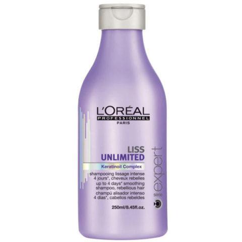 L'Oreal Liss Unlimited Keratinoil Complex Shampoo 250ml