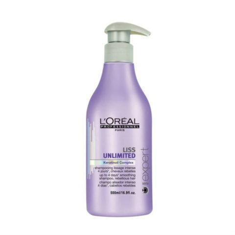 L'Oreal Liss Unlimited Keratinoil Complex Shampoo 500ml